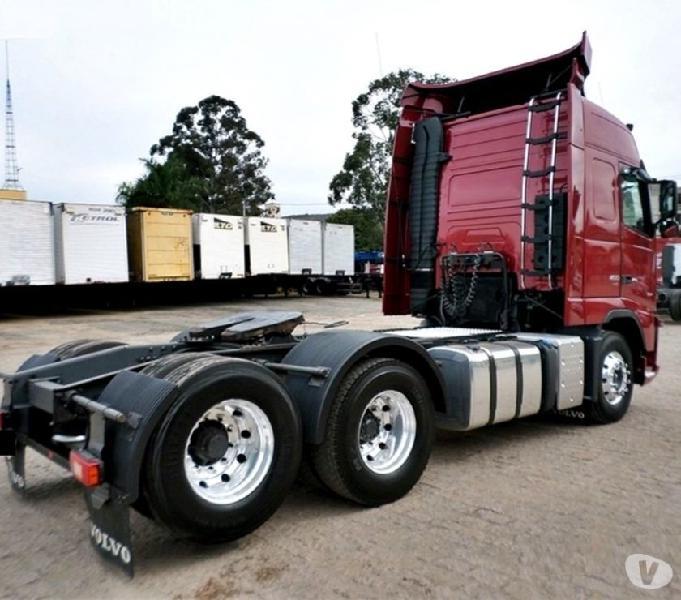 Volvo FH 12 460 6X2 Globetrotter Leito Teto Alto Ano 14