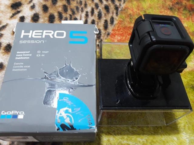 Câmera GoPro HERO 5 Session. Cartão de 8 gb