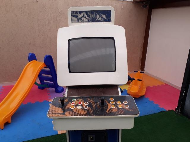 Máquina de jogos
