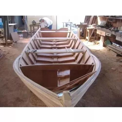 Projeto De Barco De Madeira