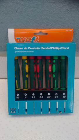 Jogo de Chaves de Precisão fenda/Philips/torx coloridas
