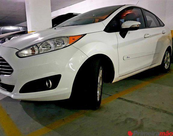 New Fiesta Sedan 14/14 Único dono, branco, impecável
