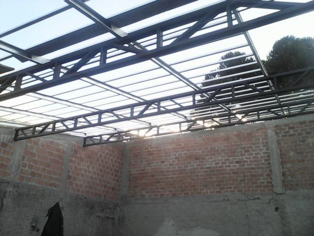 Treliça - estrutura metalica- telhado