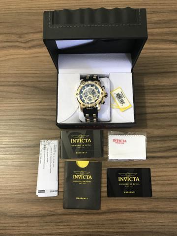 Relógio Invicta novo banhado ouro 18k