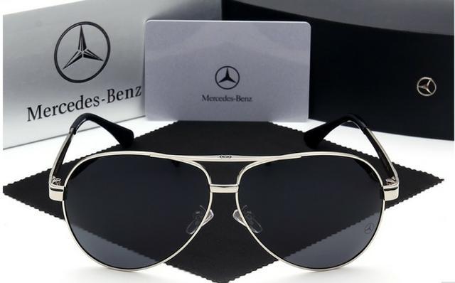 Óculos de sol lentes polarizadas Mercedes Benz Original