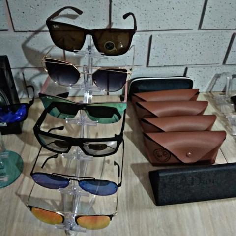 27d57374dd9ea Óculos de sol luxo polarizado proteção uv com case para