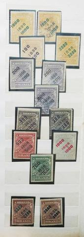 Coleção De Selos Raros E Antigos Do Brasil República.