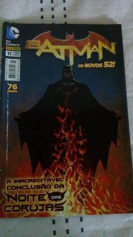 HQ Batman Os Novos 52 Vol. 11