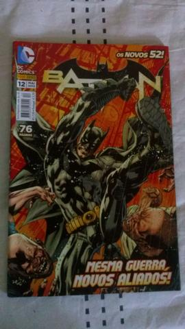 HQ Batman Os Novos 52 Vol. 12