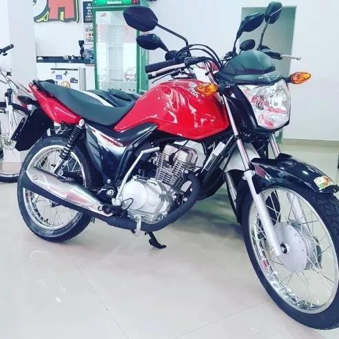 Honda Cg 125i Fan 2018 Vermelha Zero Km Documentada