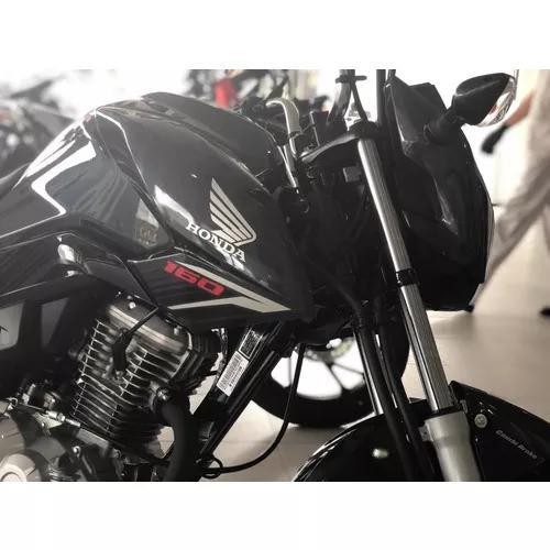 Honda Cg 160 Fan Freios Cbs Completa