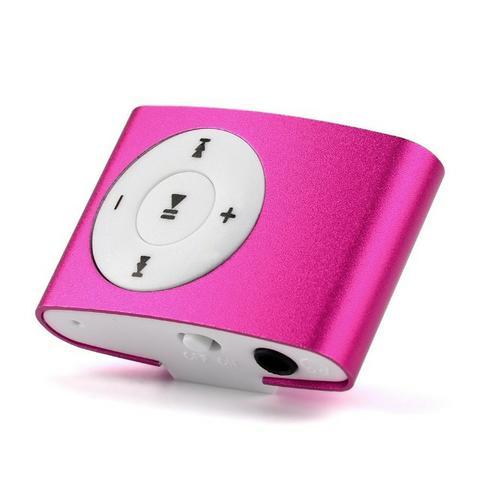 Mini mp3 player novo com fone de ouvido e carregador Ultimas