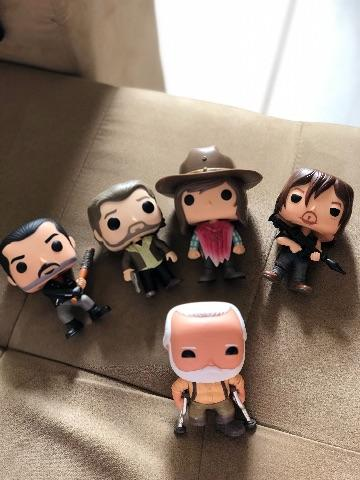 5 Funko Pop novos do The Walking Dead