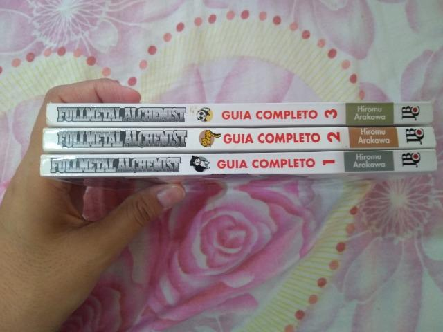 Fullmetal Alchemist Guia Completo (1,2 e 3)