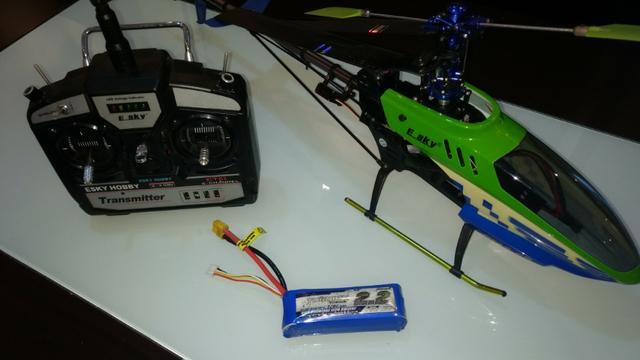 Helicóptero E-Sky Belt CP V2 6Ch