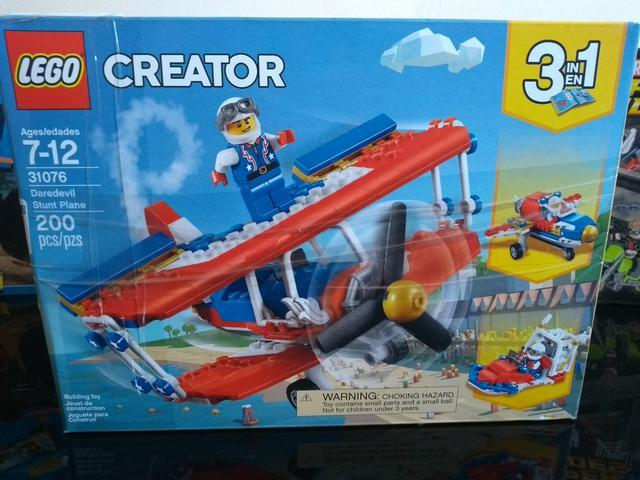 () LEGO CREATOR 3 EM 1 Avião Acrobacias Ousadas 200