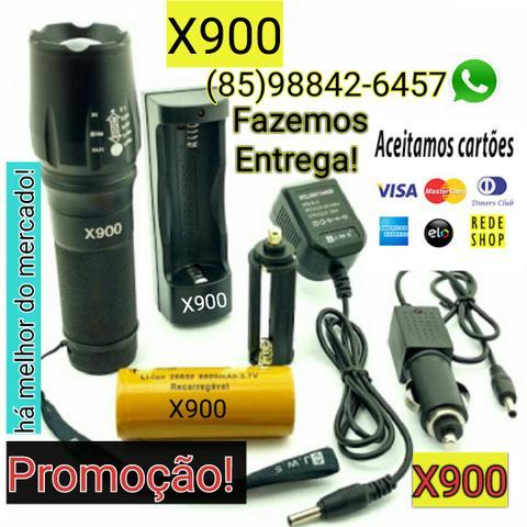 Lanterna X900 a mais potente do mercado+ garantia + Entrega