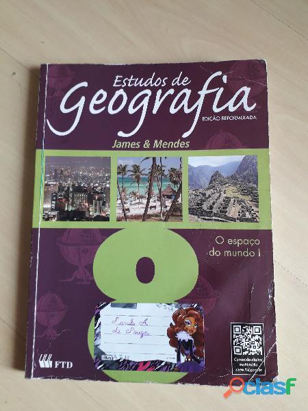 Livro Estudos De Geografia 8º Ano Ftd Aluno