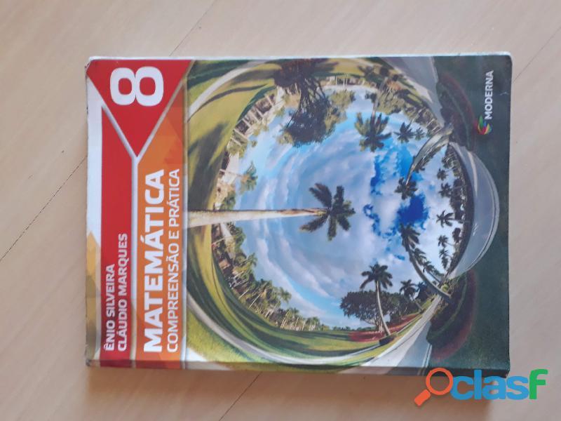 Livro Matemática Compreensão E Prática 8º Ano Moderna