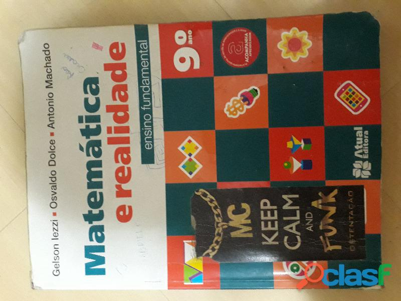 Livro Matemática E Realidade 9º Ano Atual (aluno)