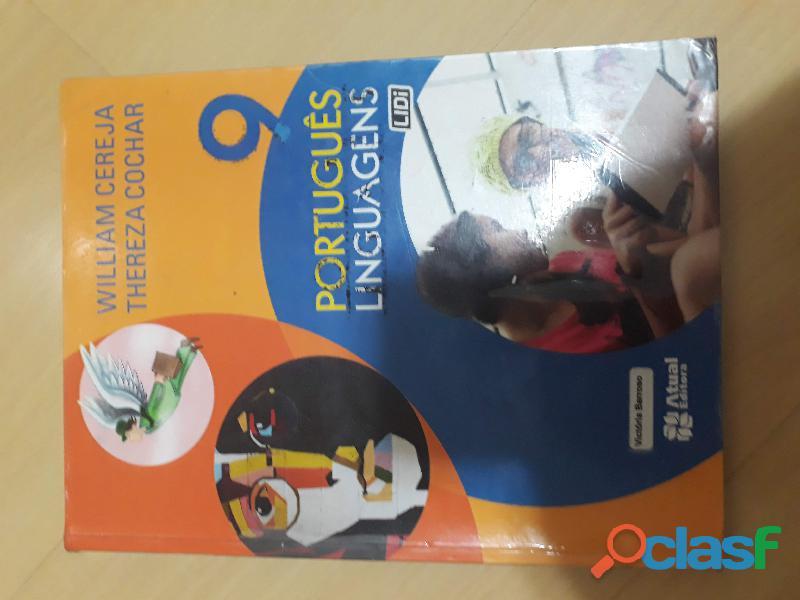 Livro Português Linguagens 9º Ano Atual Editora (aluno)