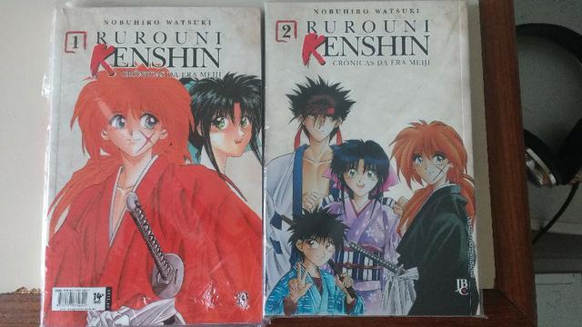 Mangá Samurai x Vol 1 e Vol 2