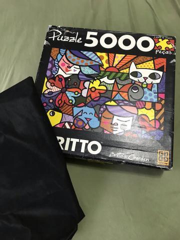 Quebra cabeça puzzle 5 mil peças edição limitada do