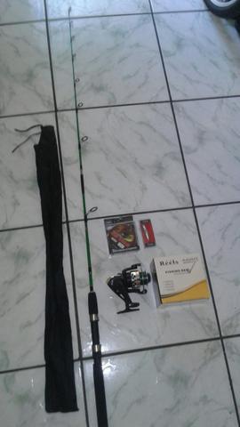 Vara de pesca kit completo