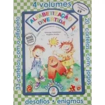 Alfabetização Divertida 6 E 7 Anos- 4 Volumes