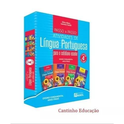 Coleção Passo A Passo Atividade Da Língua Portuguesa