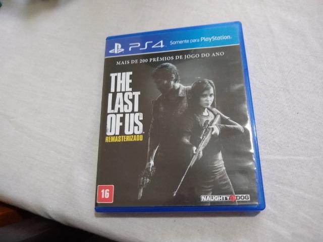 Jogo The Last of Us ps4 novo