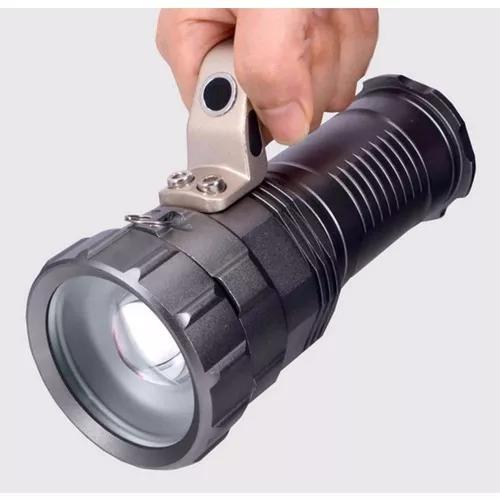 Lanterna Holofote Led Lumes Com 3 Baterias Super Potente