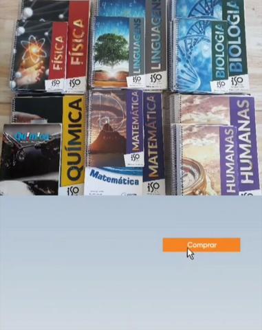 Coleção de livros preparatórios para o ENEM!!!