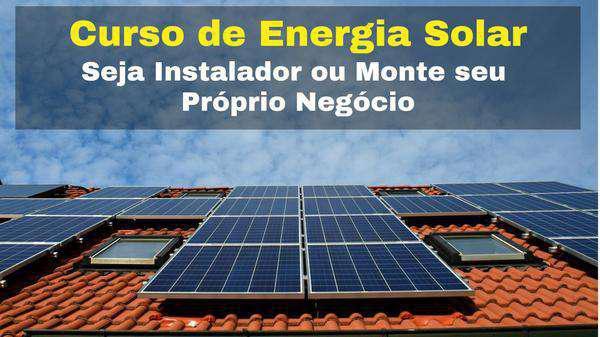 Curso de Energia Solar Online