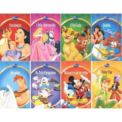 Kit Com 16 Livros Infantil Disney Pronta Entrega - Lindos