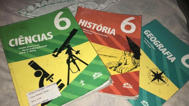 Livro de Ciências 6º ano - Interativa Editora: CPB