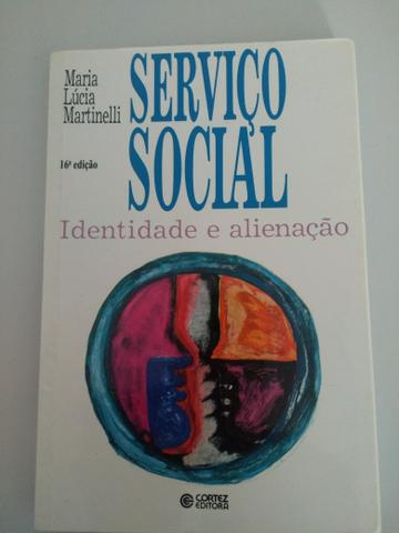 Livro de Serviço Social Identidade e alienação (Maria