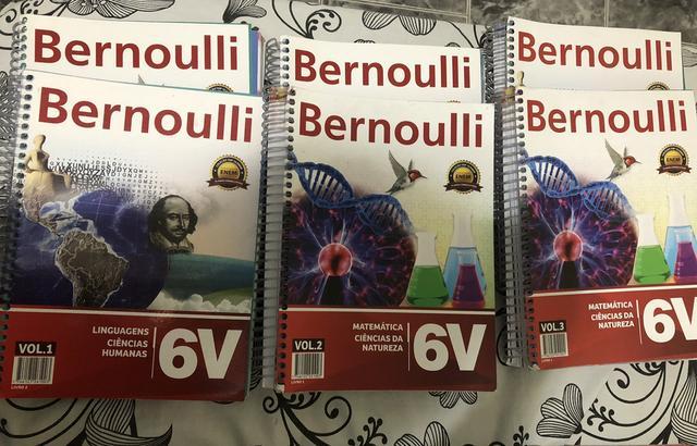 Livros Bernoulli coleção completa