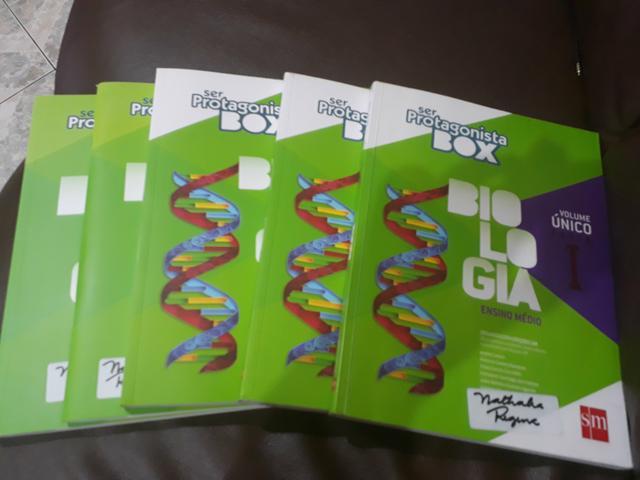 Livros Didáticos Ser Protagonista Box Biologia