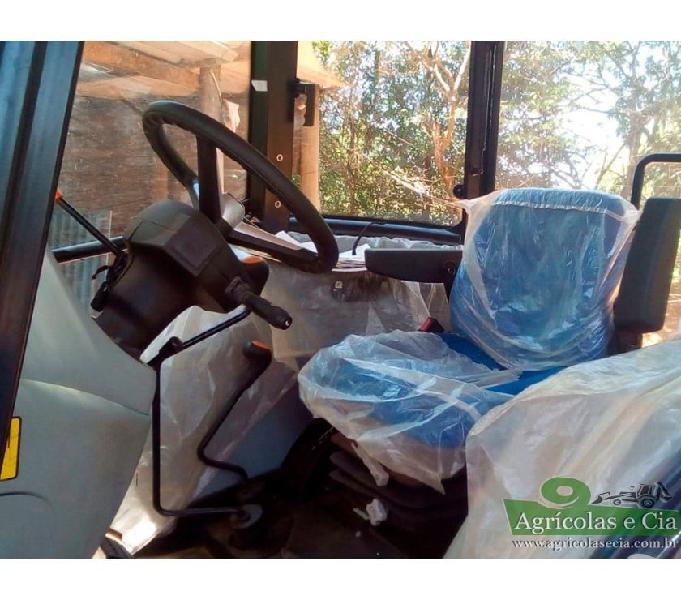 Trator New Holland TL 75 4x4 (Cabine Original - 150 Horas!)