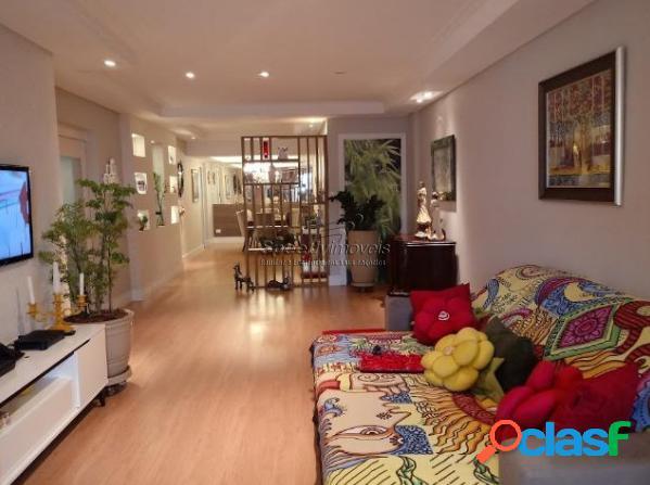 Apartamento á venda em Santos 4 dormitórios, 2 vagas.