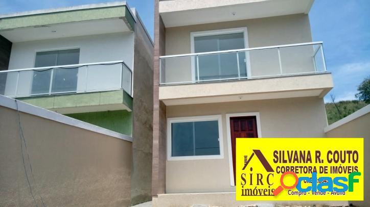 Casa Duplex 3 Quartos (2 Suites) -Maricá R$ 285 Mil