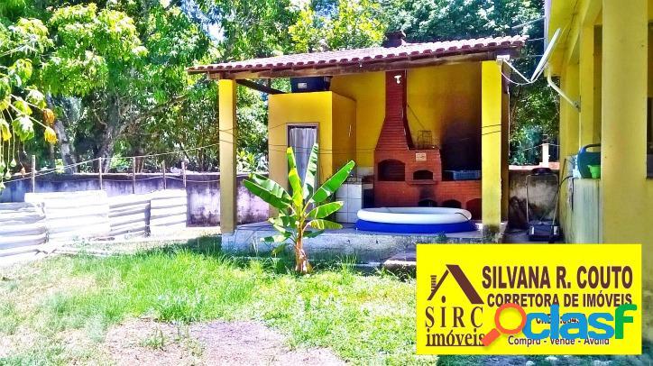 Itaocaia Valley- Chácara 2.275 m² com casa 2 Quartos