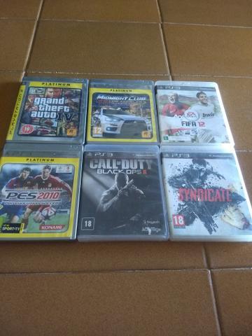Jogos PlayStation 3 50 reais / CADA jogo