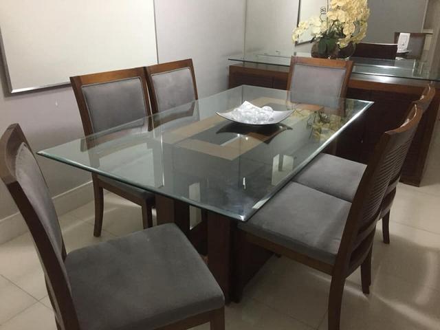 Mesa de jantar 6 cadeiras + Buffet