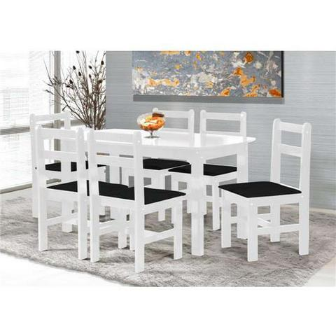 Mesa de jantar com 6 cadeiras USADO LEIA A DESCRIÇÃO