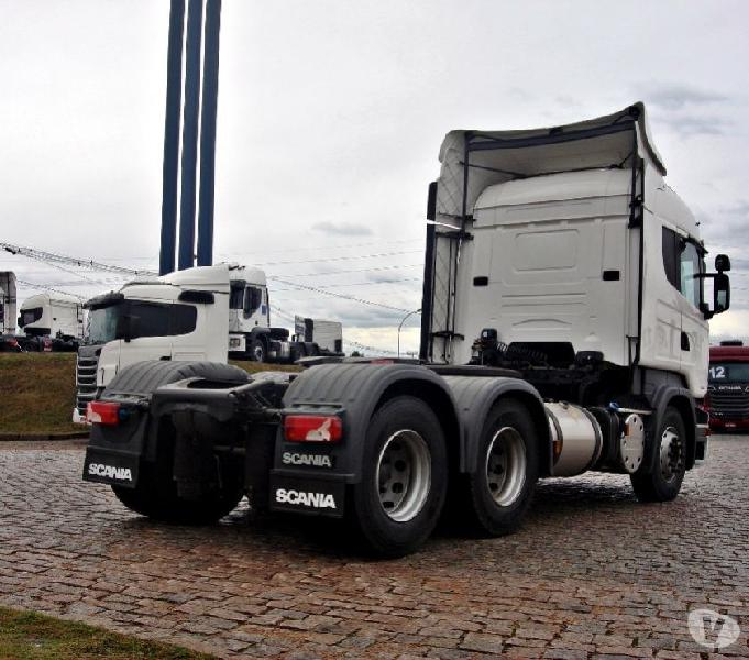Scania R 440 6X2 Highline Teto Alto Opticruiser Ano 2017