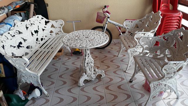 Conjunto de Cadeiras Samabaia