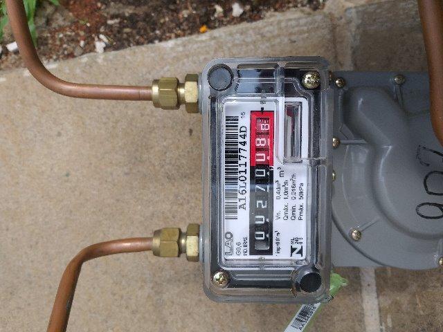 Medidor De Gás G-0.6 Lao + Registro - Novos - Validade