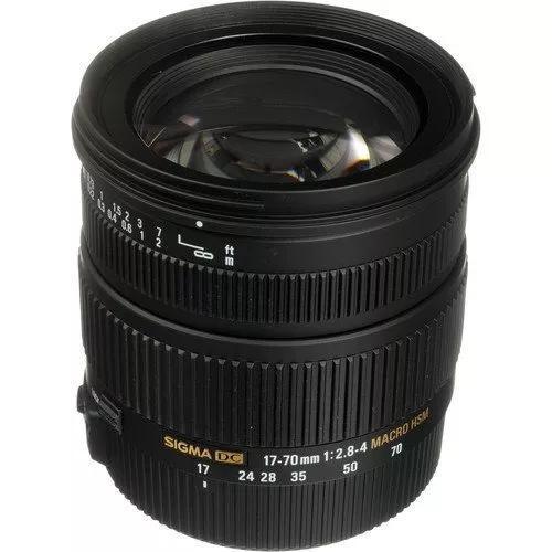 Sigma 17-70mm F2.8-4 Dc Macro Os Hsm (Canon)